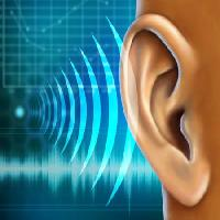 Pixwords Das Bild mit Sound, Ohr, Audio, Welle Andreus - Dreamstime